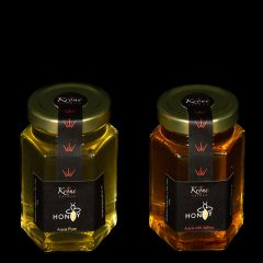 Saffron acacia honey