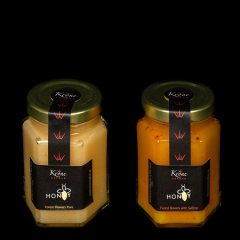 Saffron forest flower honey